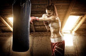 Kickboxen, Kickboxerin